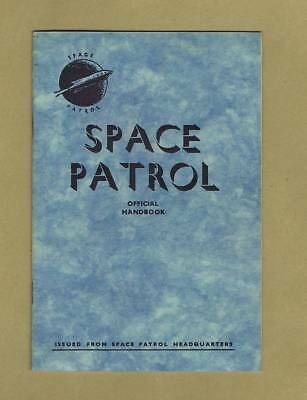 Space Patrol Official Handbook 1952 Denis Gifford - Only 2 Known To Exist