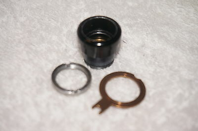 Curta Type 2 Upper Clearing Plate Locknut Set, Excellent Condition