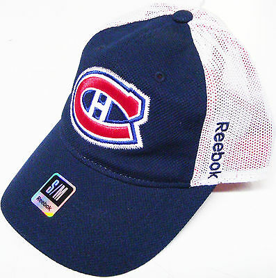 Reebok Nhl Montreal Canadiens Slouch Star Flexfit Hat Cap Brand New