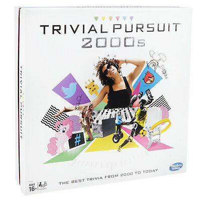 Trivial Pursuit 2000s Family Edition Board Game Hasbro NEW