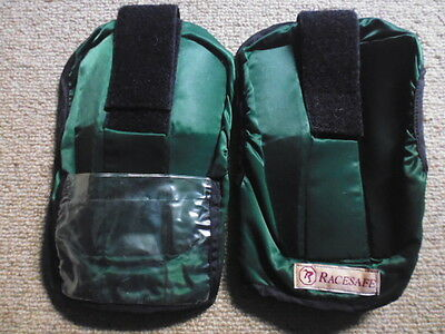 Racesafe Adult Shoulder Protector Guard Pads green