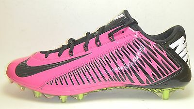 ae9f263d4a New Nike Vapor Carbon Elite TD Football Lacrosse Cleats Sz 16 Pink Black BCA