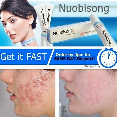 Nuobisong Face Treatment Acne Scar Cream Gel Removal Blemish Stretch Marks