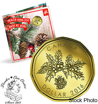 Canada 2016 Holiday Gift Set with Special Loonie