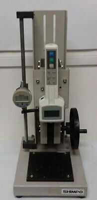 SHIMPO FGS-50H Hand Wheel Test Stand DFS-100R Digital force Gauge Mitutoyo
