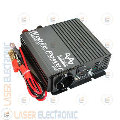 Power Inverter Professionale Made in Taiwan Onda Sinusoidale Pura 300W 12V> 230V