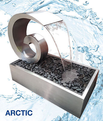 OUTDOOR Stainless Steel Water Feature - Freestanding Inc Pump