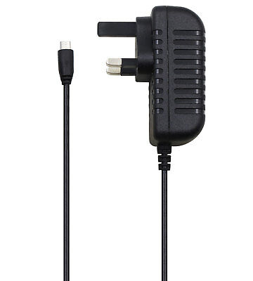 UK Mains House Wall Charger For Acer Iconia One 10 B3-A20 Tablet PC