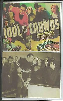 Idol Of The Crowds - John Wayne All Region Dvd