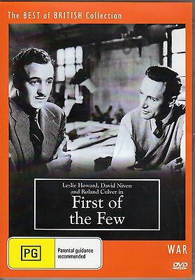 First Of The Few - Aka Spitfire (Us Title)  David Niven  New All Region Dvd