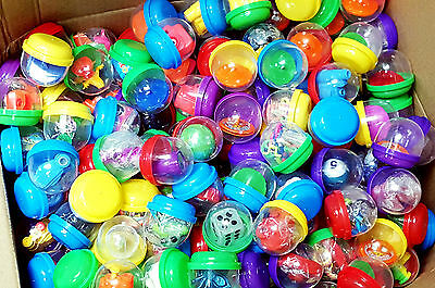 "500X  2"" (49mm) Capsules filled Mix Toys Bulk Vending Prizes Pinata Party Favors"