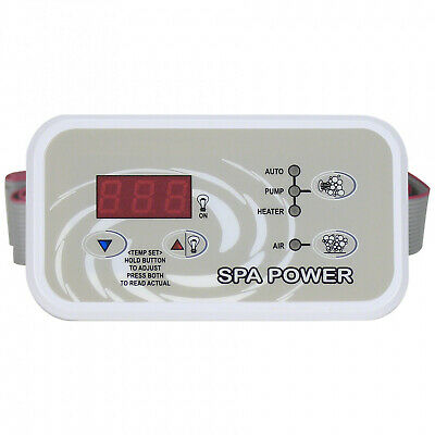 Davey Spa Power Touchpad Control Spa Quip SP400 500 600 Rectangle Q71092-03SP4