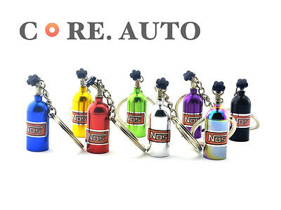 New 8 Color NOS Bottle Oxide Key Ring Car Key Chain Nitrous  Box Styling
