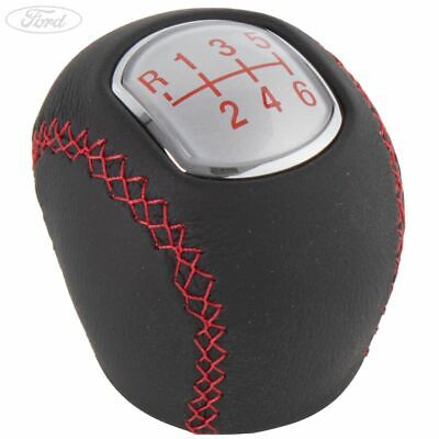Genuine Ford Gear Change Lever Knob Red ST TDCi 6 Speed Manual MMT6 1429783