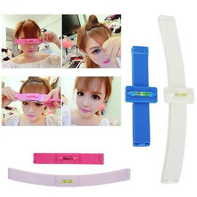 Professional Bangs Trim Tool Hair Cutting Clip Comb Hairstyle Typing DIY AU