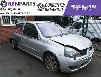 Renault Sport Clio II 182 04-06 2.0 16v Interior UCH Relay Breaking Spares Parts
