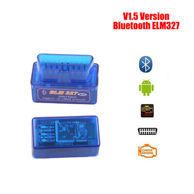 Bluetooth ELM327 V1.5 OBD2 Auto Car Diagnostic Interface Code Scanner Android