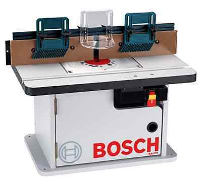 Router Table Bosch Cabinet Style Adjustable MDF Face Plates 4 7/8 x 25 1/8 Inch