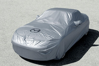 Genuine Mazda MX-5 2005-2015 Outdoor Vehicle Cover - Mazda Logo - NE85-W2-113