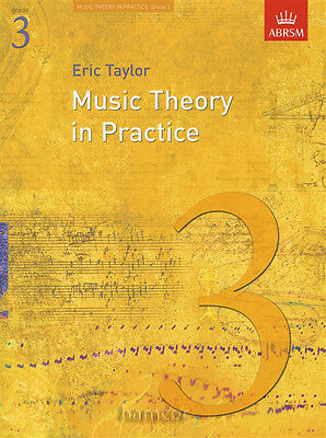 Music Theory in Practice ABRSM Grade 3 Exam Syllabus Support Book