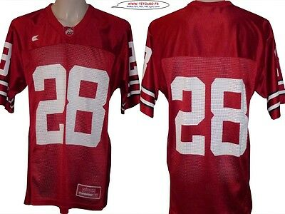 Maillot nfl Foot US américain ncaa Ohio State N°28 Taille M (us) -> L (fr)