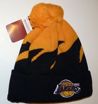 Bonnet NBA Mitchell & Ness Los Angeles LAKERS NEUF
