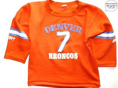 Maillot SWEET nfl Foot US américain BRONCOS N°7 Taille 10 12 ans (fr)