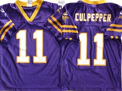Maillot nfl Foot US américain VIKINGS N°11 Culpepper Taille 10 12 ans (fr)
