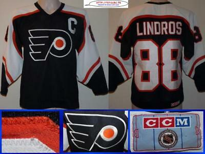 Maillot jersey de hockey sur glace NHL FLYERS #88 LINDROS brodé M