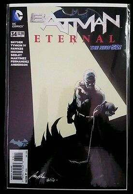 BATMAN ETERNAL #34 1st Print (2014 The NEW 52 DC Comics) Comic Book NM NEAR MINT