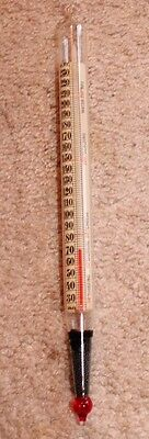 Vintage Floating Dairy Thermometer - made in Germany