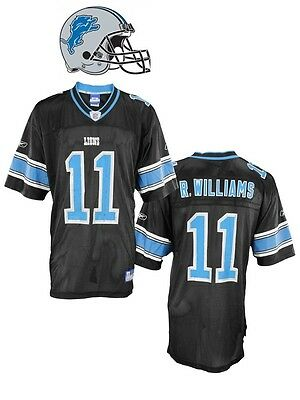 Maillot NFL Foot US LIONS N°11 WILLIAMS Taille XL (US) -> 2XL (fr)