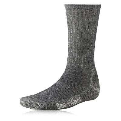 Smartwool Mens Light Crew Grey Mid Height Merino Wool Hiking Walking Socks