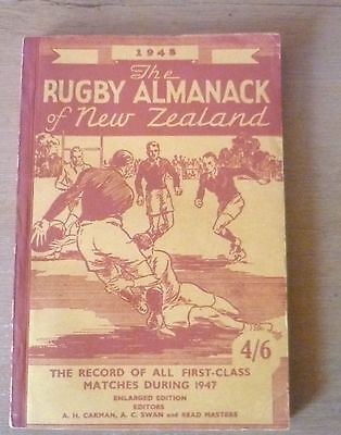 1948 - The Rugby Almanack of New Zealand.