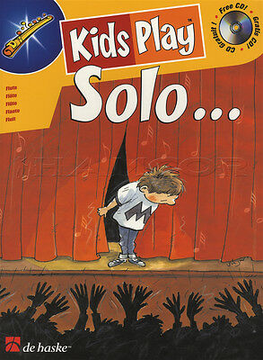 Kids Play Solo for Flute Sheet Music Book with CD Play-Along