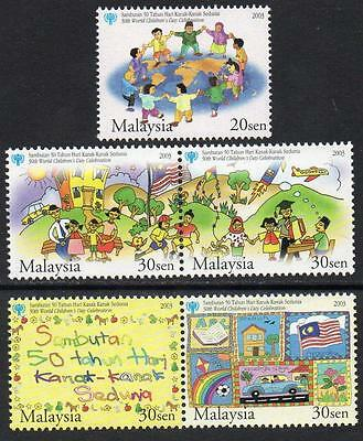 MALAYSIA MNH 2003  The 50th World Children's Day