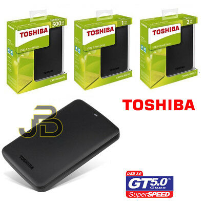 Hard Disk Esterno 2,5 500gb / 1tb / 2tb Toshiba Usb 3.0 Windows 10 /  Ios Mac