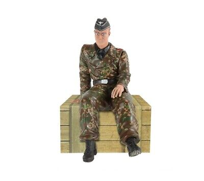 1:16 Scale Torro Series German Tank Driver Figure WWII RC Tank