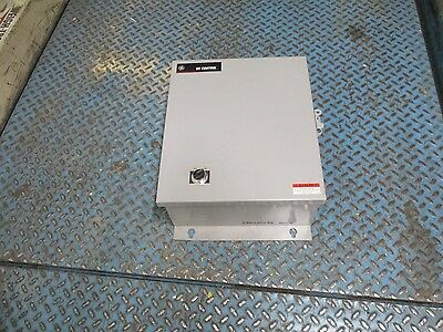 """GE Lighting Contactor Enclosure Size: 18 x 15 x 6"""" Used"""