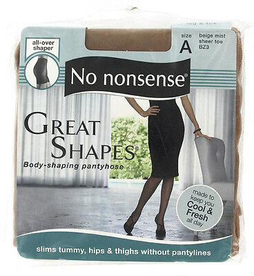 NO NONSENSE - Body Shaping Pantyhose Beige Mist Size A - 1 Pair