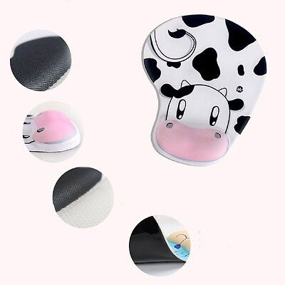 New Skid Resistance Memory Foam Comfortable Wrist Rest Support Mouse Pad