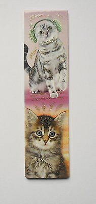 Magnetic Bookmark Stretchy Cat