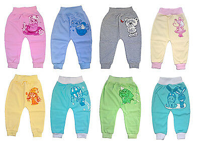 Baby Boys and Girls Trousers Leggings, 100% Cotton size: NB to 18 mths