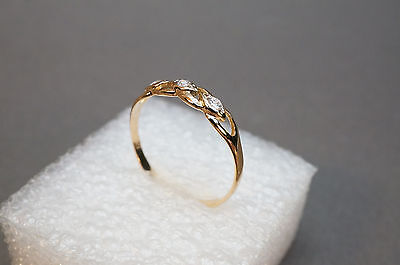 (1.32) Ring 585 Gold 14K Russia