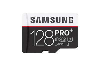 Brand New Samsung 128GB PRO PLUS MicroSD SDXC UHS-1 Memory Card With Adapter
