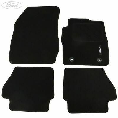 Genuine Ford Fiesta MK7 Front Rear Contour Floor Mat Carpet Set 1526895