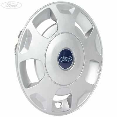 "Genuine Ford Transit Mk6 Mk7 16"" Wheel Trim Hub Cap Silver 2000-2014 1534795"