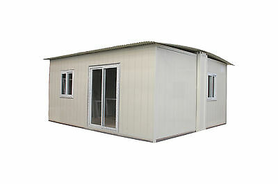 3 bedroom 77m2 Insulted Expandable Folding Granny Flat House Home & PARTNER/