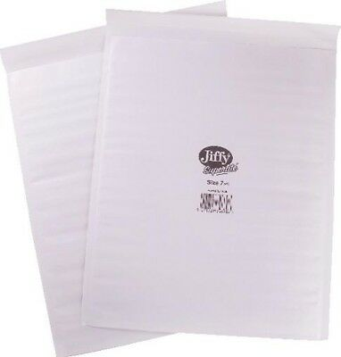 Jiffy Superlite Foam Lined Mailer Size 7 340 x 435mm White MBSL02807