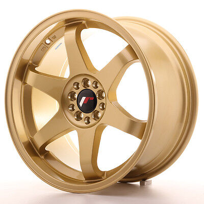 Llanta Japan Racing Jr3 18X9 Et40 5X100/108 Gold